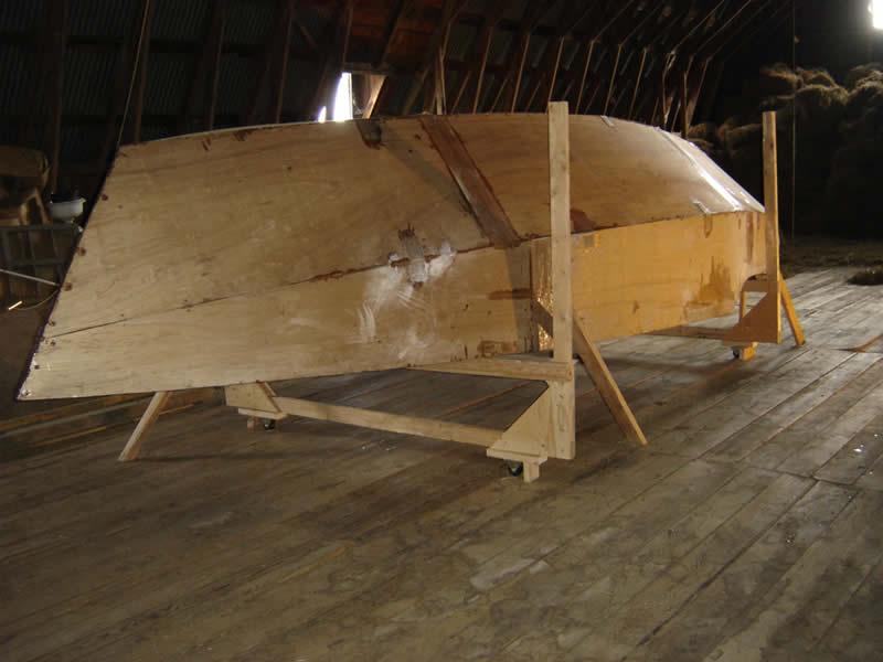 hull turned